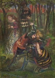 1857 (retouched 1865), watercolour by Dante Gabriel Rossetti (1828–1882)