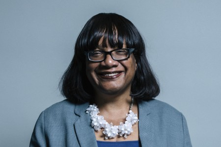Official Portrait of Ms Diane Abbott