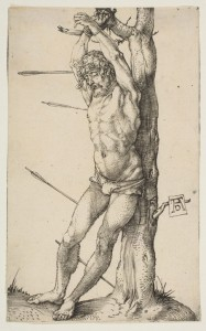 Saint Sebastian Tied to a Tree
