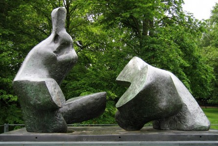 Two Piece Reclining Figure No. 5