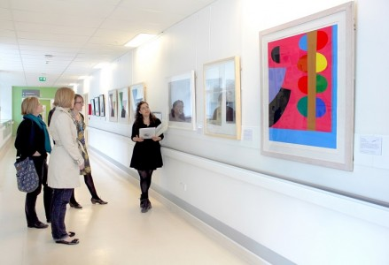 A tour of the art at University College Hospital