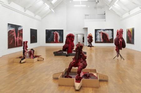 Installation view at Modern Art, Oxford