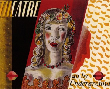 Theatre 'pair poster', London Transport