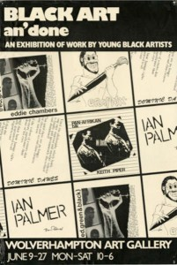 Poster exhibition Black Art an' Done