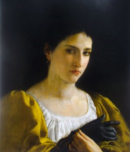 The Woman with a Glove