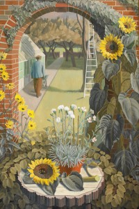 1950, oil on canvas by Charles Mahoney (1903–1968)