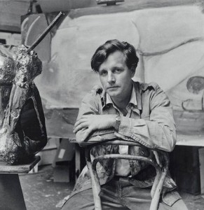 Peter Lanyon (1918–1964), in his studio at St Ives