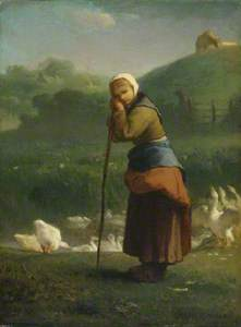 The Goose Girl at Gruchy