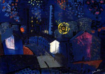 Ebbw Vale at Night