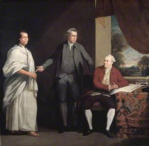 Omai (c.1753–c.1776/1777), Joseph Banks (1743–1820) and Dr Daniel Solander (1736–1782)