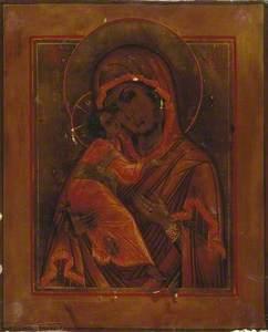 Icon of The Virgin Eleousa (Vladimir Virgin)
