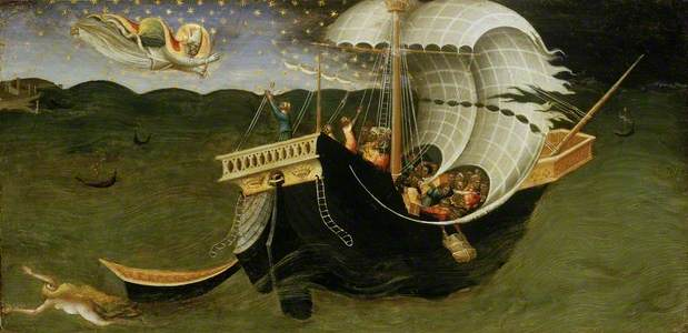 St Nicholas of Bari banishing the Storm