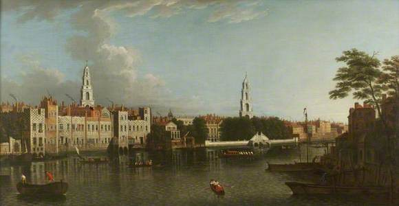 The Thames at the Savoy