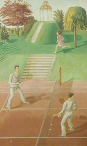 Tennis (triptych)