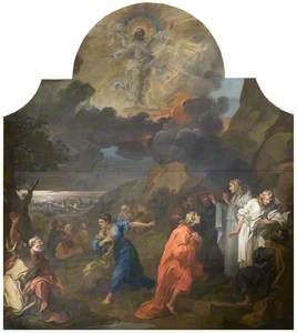 The Altarpiece of St Mary Redcliffe: The Ascension (triptych, centre panel)