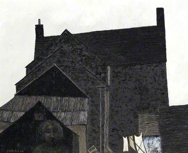 Cottage and Figure I