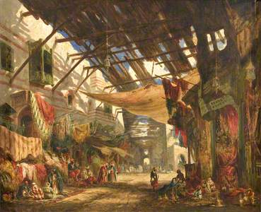 The Carpet Bazaar, Cairo