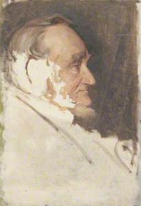 Portrait of an Old Man (probably C. Douglas McKenzie)