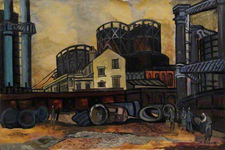 Camley Street and Gas Holders