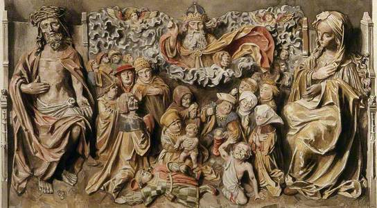 The People of Lyons Receiving Deliverance from the Plague