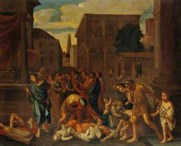 The Plague of the Philistines at Ashdod