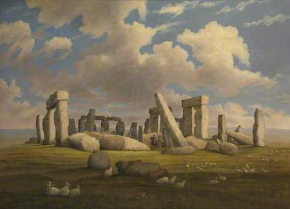 Stonehenge from the West-South-West