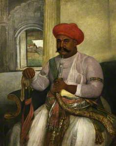 Hasan Reza Khan, Minister to Asaf al-Daula of Oudh