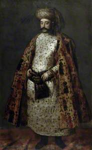 Nakd 'Ali Beg, Envoy from Persia
