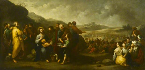 The Feeding of the Five Thousand (copy after Murillo)