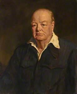 Sir Winston Churchill (copy after Oswald Birley)
