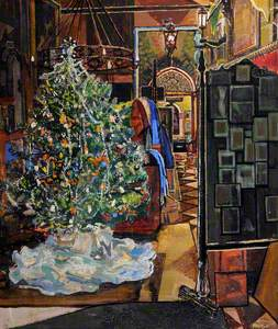 Le Coin - My Studio with Christmas Tree