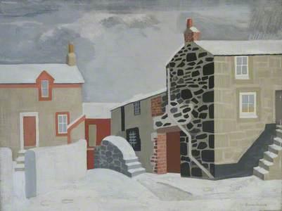 Snow (Scene) St Ives