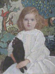 Baba and Billy (Portrait of the Artist's Daughter, Vivian)