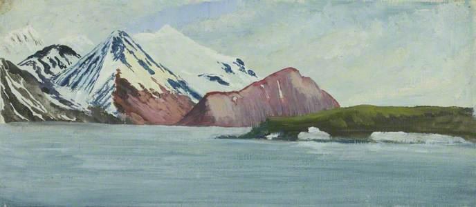 Spitsbergen Wood Bay, West Shore Porphyrite Exposure
