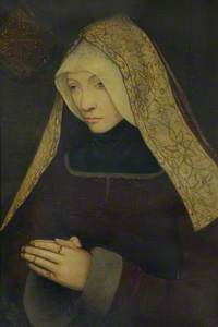 Lady Margaret Beaufort, Countess of Richmond and Derby (1443–1509), Foundress (copy after an unknown