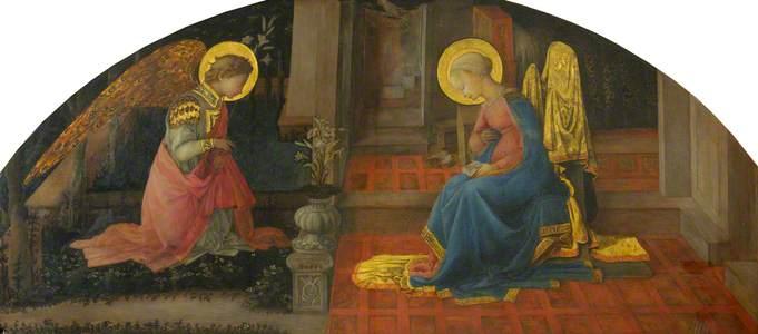 The Annunciation (copy of Fra Filippo Lippi)