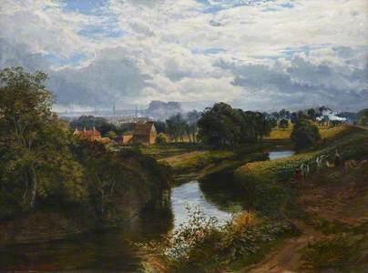 View of Edinburgh from Bonnington