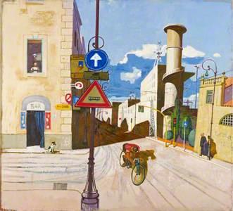 The Cyclist, Via Giolitti