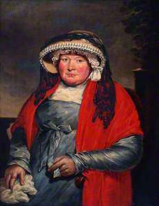 Portrait of Martha Gunn (1726-1815)