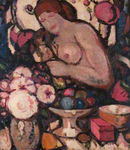 Fleurs et Fruits (previously called Woman, Flower and Fruits)