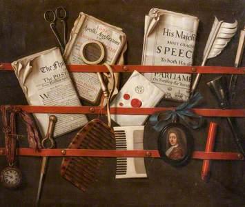Trompe l'Oeil, Letter Rack