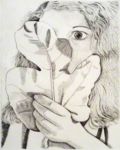 Girl with a Fig Leaf