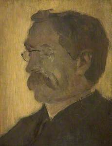 Portrait of the Artist's Father