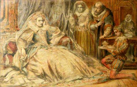 Queen Elizabeth I and Courtiers