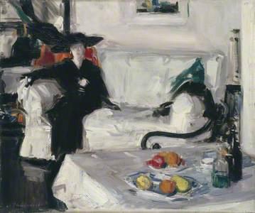 Interior with Figure