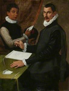 Domenico Giuliani and His Servant