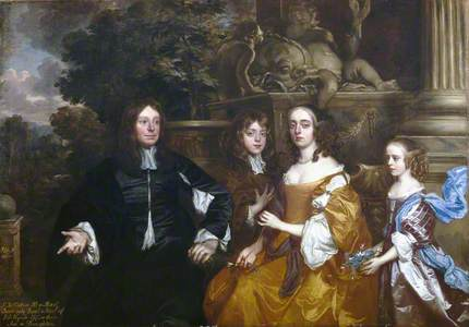 Sir John Cotton and His Family