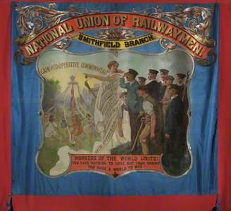 National Union of Railwaymen Smithfield Branch Banner (recto)