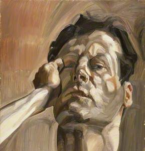 Man's Head (Self Portrait I)