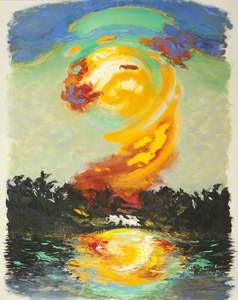 July Sunrise, Orwell Estuary, No.2